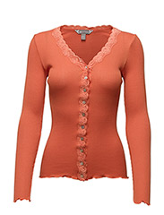 Cardigan - 390 Zesty Orange