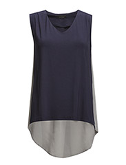 Jessica Top - 201 Oxford Blue