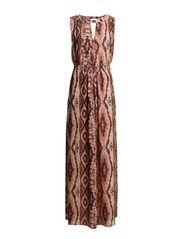 Tikki Maxi Dress - 106 Tikki Print