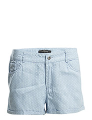 Dot Shorts - 202 Sky Blue