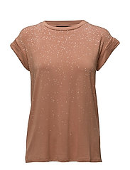 True T-shirt - 018 DUSTY MOCCA