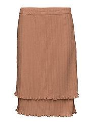 Signe Skirt - 018 DUSTY MOCCA