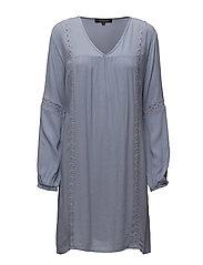 Kean Dress - 216 EVENTIDE BLUE