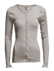 Cardigan - 003 Light Grey Melange