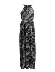 Megan Maxi Dress - 162 Black Forrest Print