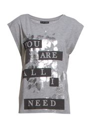 Kinsley Tee - 176 Grey Melange