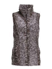 Fanny Vest - 176 Grey Melange