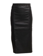 Alva Pencil Skirt - 001 Black