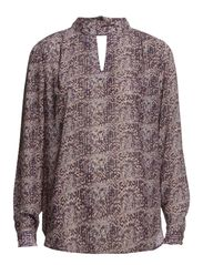 Lucca Shirt - 197 Arrow Print Purple