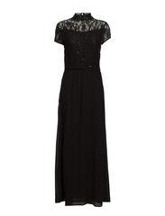 Sara Maxi Dress - 001 Black