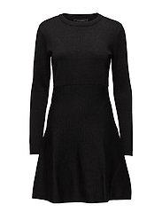 Mie Dress - 001 BLACK