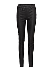 Soho Leather Pant - 001 BLACK