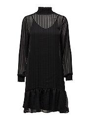 Paint Dress - 001 BLACK
