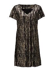 Keith Plain Dress - 738 KEITH PRINT
