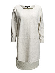 Ozlem Dress - 572 Light Grey Melange