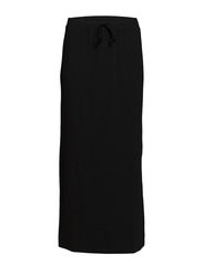 Sofia Long Skirt - 001 Black