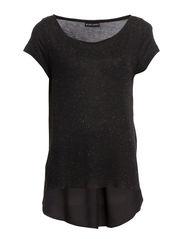 Dorthe T-shirt - 001 Black