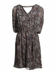 Signe Dress - Snake Print