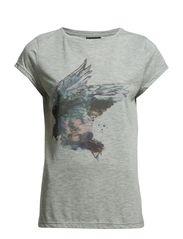 Faith T-shirt - 003 Lt. Grey Melange