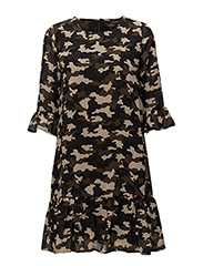 Isa Dress - 710 ALOW GREEN