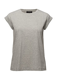 Kim SS O-neck - 003 LIGHT GREY