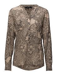 Jenny Shirt - 984 LORA PRINT BLACK