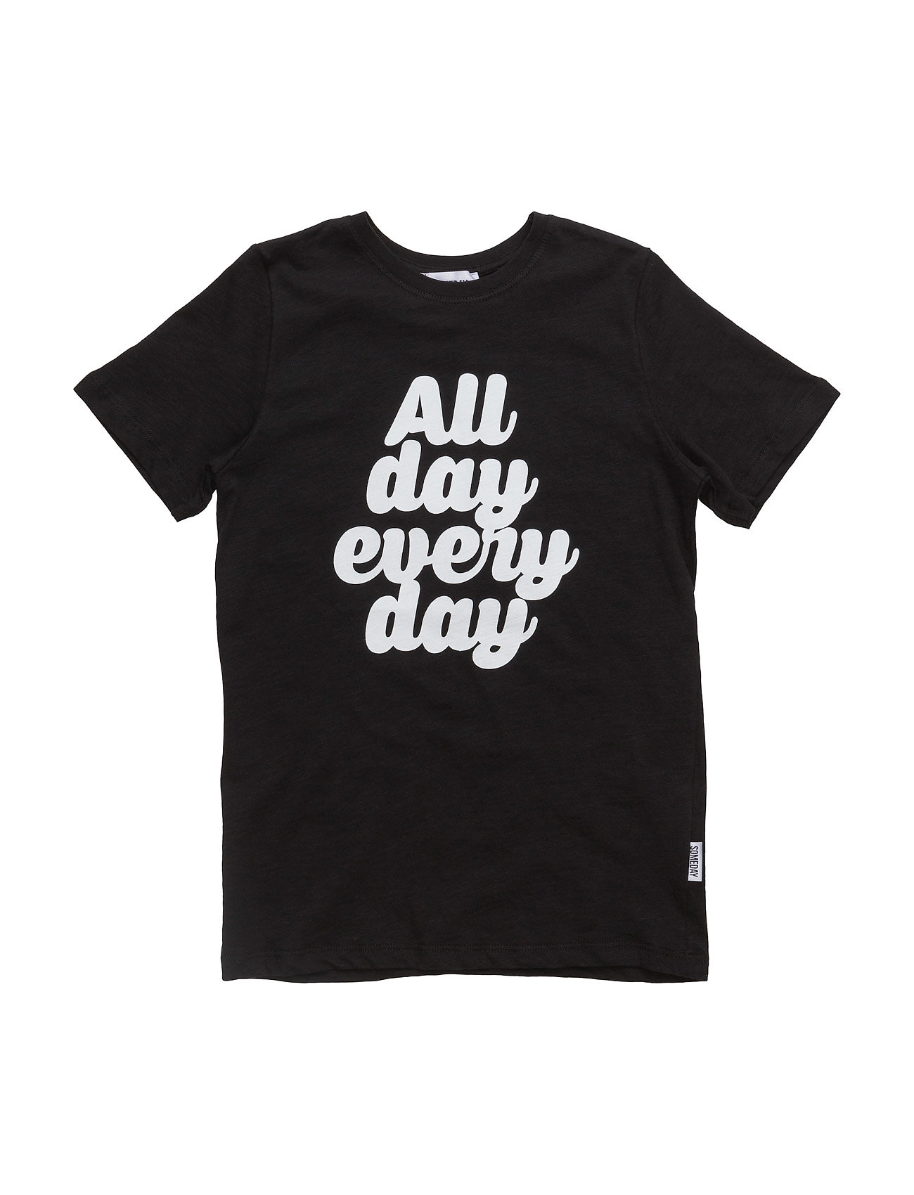 Happy T-Shirt Someday Soon Kortærmede t-shirts til Børn i Sort