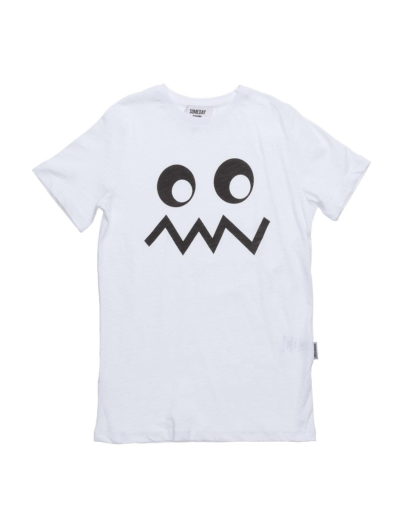 Ollie T-Shirt Someday Soon Kortærmede t-shirts til Børn i hvid
