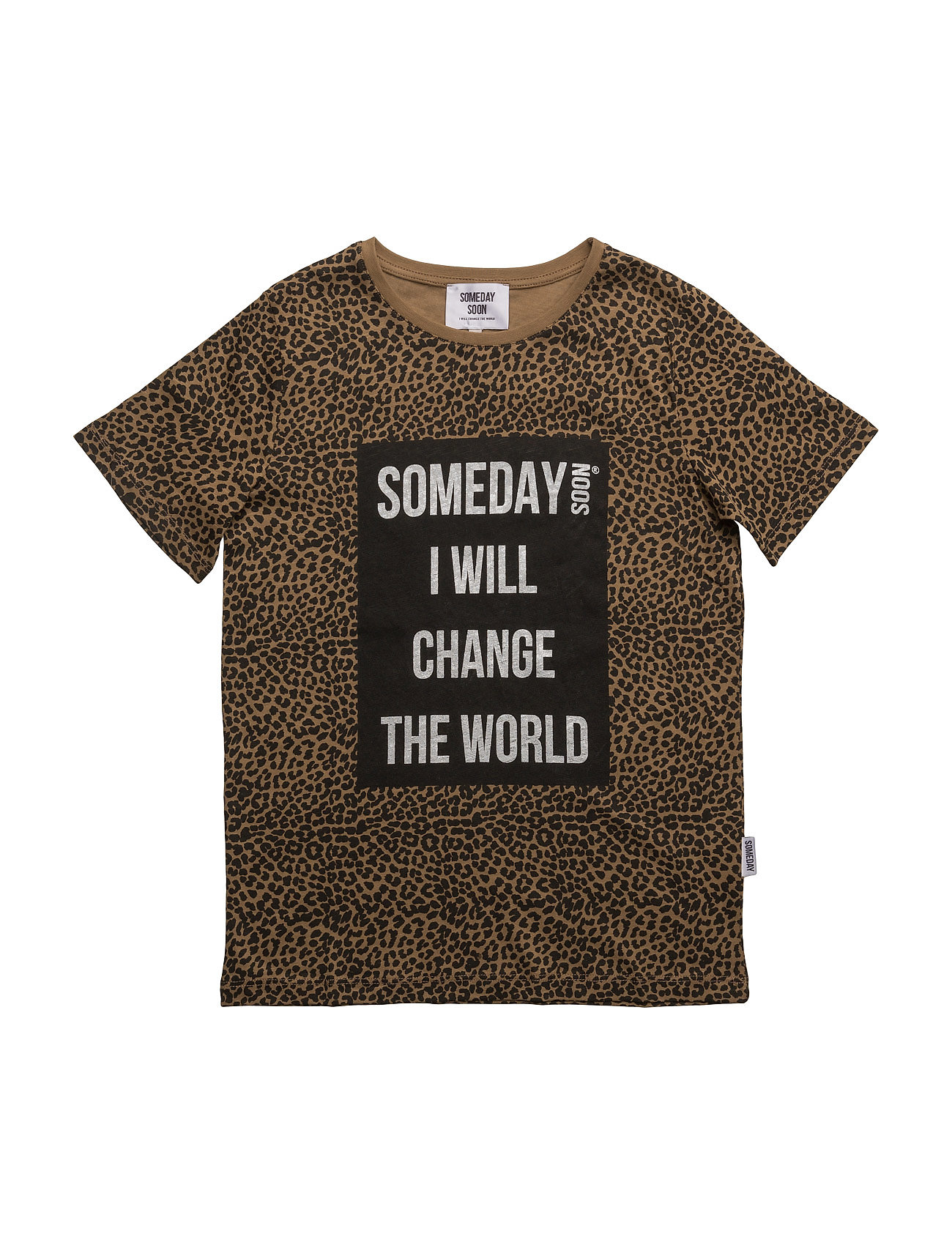 Someday T-Shirt Someday Soon Kortærmede t-shirts til Børn i khaki