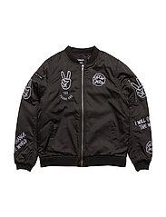 Gator Baseball jacket - BLACK