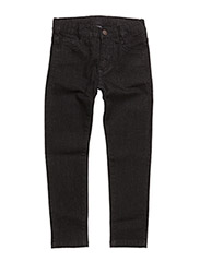 Slim fit washed denim pants Jonas - BLACK