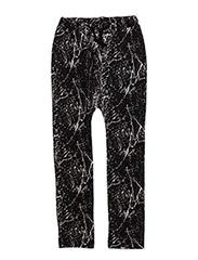 Ninja Pants - BLACK AOP