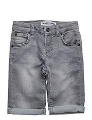 Carl Denim Shorts - GREY