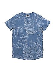 Palm T-shirt - BLUE AOP