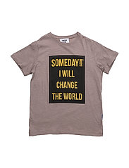 Someday T-shirt - BROWN