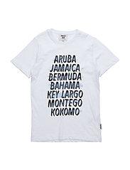 Kokomo T-shirt - WHITE