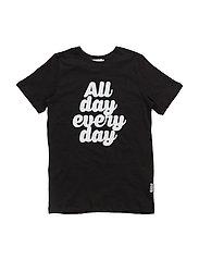Happy T-shirt - BLACK
