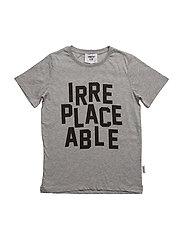 Jay T-shirt - GREY MELANGE