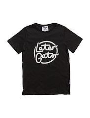 Later T-shirt - BLACK