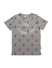 Yes T-shirt - GREY MELANGE