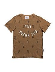 Yes T-shirt - KHAKI