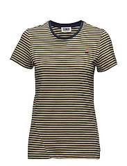 T-SHIRT MC - NAVY/SUNNY YELLOW