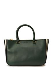 CABAS LUCIEN LEATHER TOTE - 568 SAPIN MULTICO
