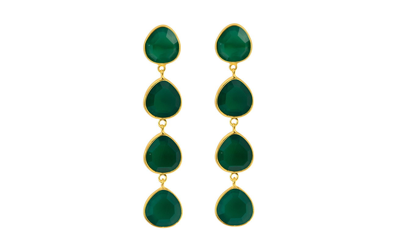 SOPHIE by SOPHIE Multi stone earrings