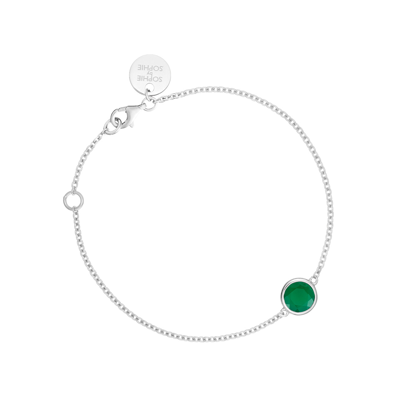 Birthstone Bracelet - August SOPHIE by SOPHIE Smykker til Damer i Sølv