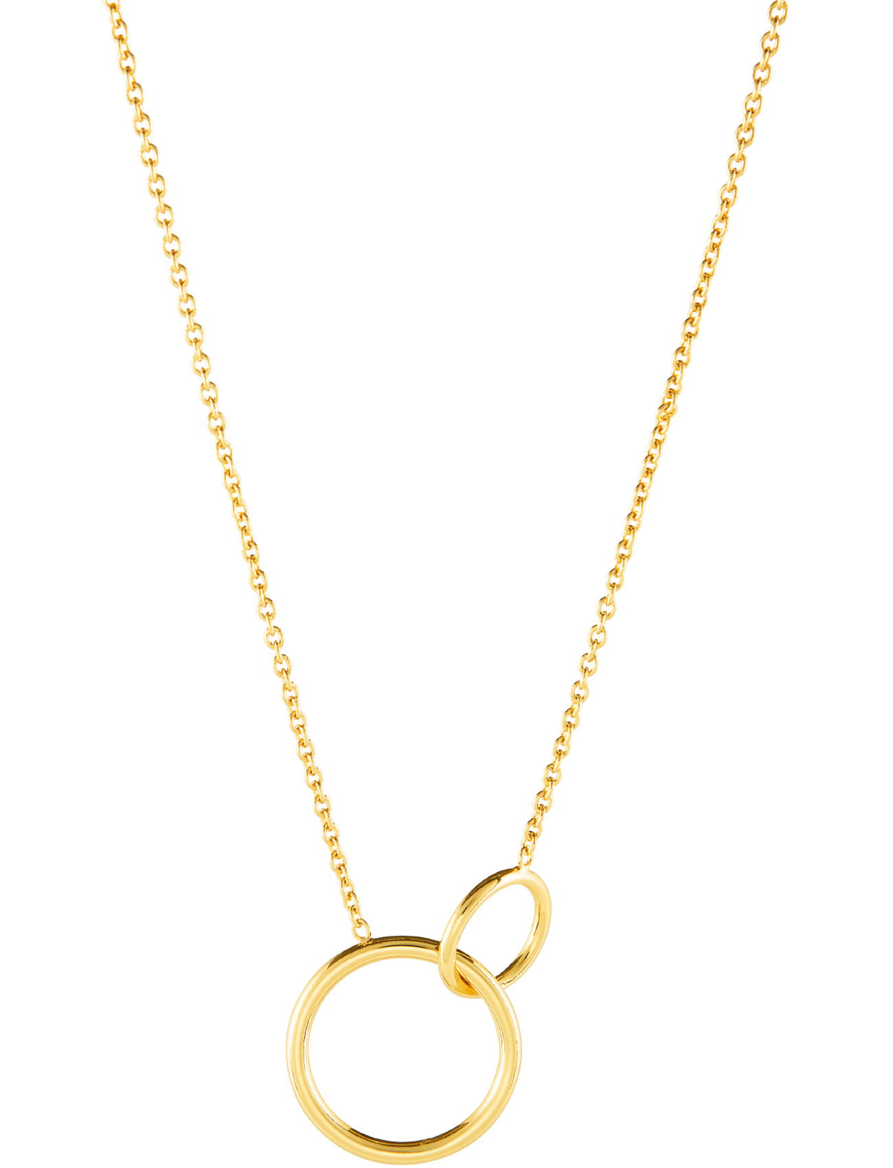 Mini Circle Necklace SOPHIE by SOPHIE Smykker til Damer i Guld