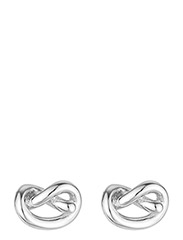 Knot studs - SILVER