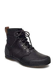 ANKENY MID HIKER - BLACK, TOBACCO
