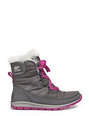 YOUTH WHITNEY SHORT LACE - QUARRY, PINK ICE