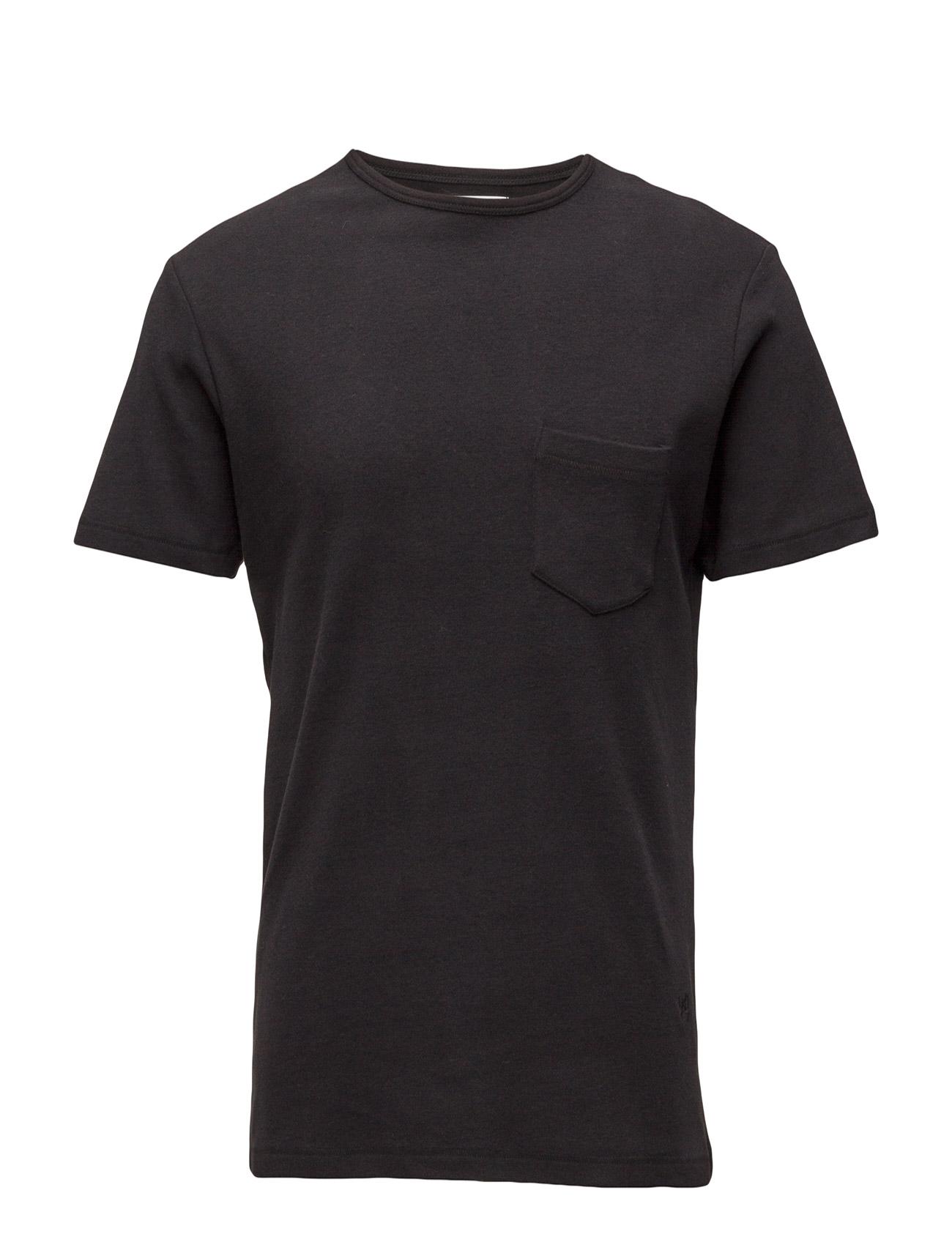Aw16 Forever Basic T-Shirt W. Pocket Soulland Kortærmede til Herrer i Grå